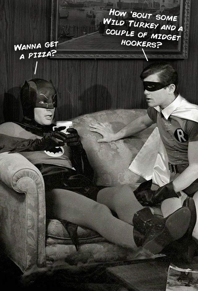Model Hooker Batman